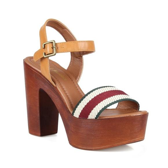 fab9e916b04bd Nature Breeze Shoes | 2rigo04 Two Piece Womens Clog Sandals | Poshmark